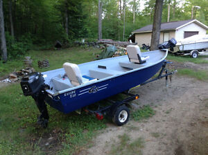 G3 Boats V-12 Guide with trailer/8hp