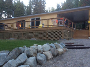 6.6 secluded acres with 1 year old home