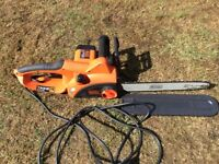 Black Decker chain saw cs2040