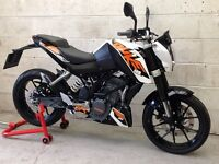 KTM Duke 125 Only 2689 miles. Delivery Available *Credit & Debit Cards Accepted*