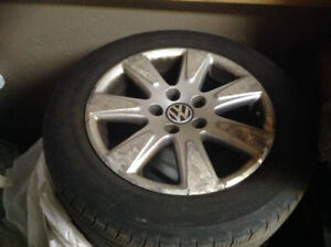 4 summer tires on rims 215/55r16 93 h BEST OFFER