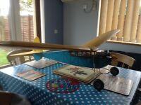 Radio controlled plane c/w SC25 Engine