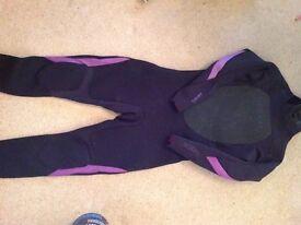 Billabong Ladies 3/2 Size 14 summer Wetsuit Never Worn