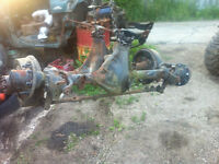 Dana 44 and Dana 60 axles for sale 5.86 gears flat top knluckles