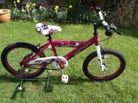Girls huffy rockstar bike