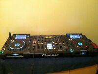 CDJ 2000 & DJM 2000 Full set up