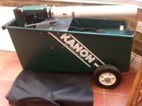 Kanon cricket Bowling machine with attachments