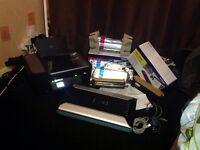 Lexmark wireless ss printer+canon canoscan + 5 brand new colour toner cartridges