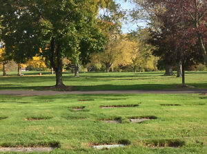 Four Burial Plots at White Chapel Cemetery in Hamilton