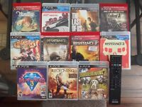 PS3 Slim w/ 11 Games and 1 TB Hard Drive (REDUCED!!!!!)