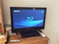 "32 "" TV flatscreen HD LCD"