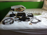 Xbox 360 250 GB kinect two controllers turtle beach headphones