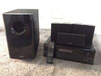 Onkyo TX-SR508 AV Amplifier and Onkyo 5.1 speaker system