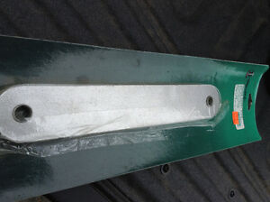 Boat transom plate - new