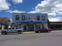 commercial building and business for sale