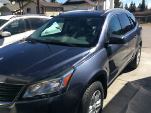 2013 Chev. Traverse. SL 51001 k equipped for flat or dinghy tow