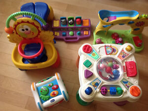 Large assortment of toddler toys