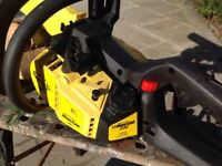 Chainsaw hardly ever used so excellent condition.