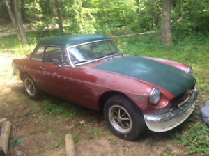 Parts or fixer upper mgb not rusted out