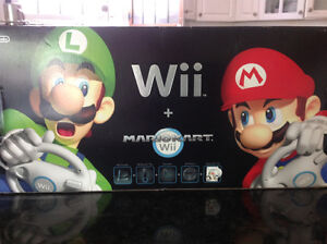 Wii console and 8 games