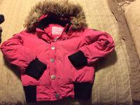 2X Manteaux d''hiver Joshua Perets pour filles taille S et M