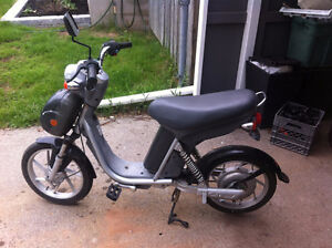 disk brake electric moped with pedals