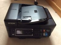 Epson WF2630 for sale with spare compatible cartridges