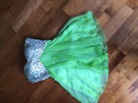 Prom Dress light green