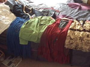 Various ladies clothing