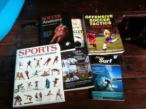 Euc. Assorted Soccer Training and Sports books