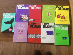 For Sale: Judy Blume Books
