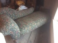 Chaise lounge (antique)