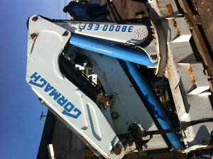 Cormach Knuckle boom with articulating crane