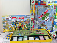 "Special Edition ""The Simpson"" Monopoly Game - Complete!"