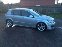 VAUXHALL ASTRA SRI EXTREME PACK 2.0 RED TURBO 55 PLATE