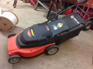 Black and Decker 24 Volt Lawn mower