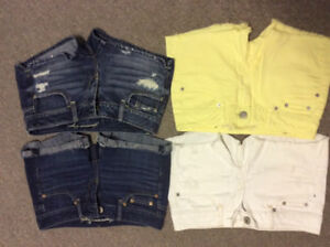 Girls size 0 shorts-4 American Eagle
