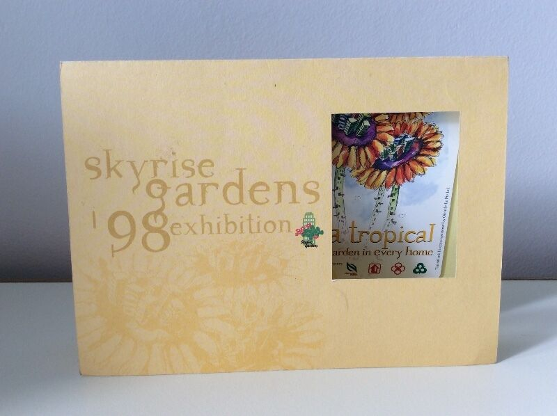 Skyrise gardens '98 exhibition SMRT TransitLink card