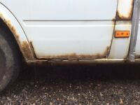 Wanted sprinter van doors and panels parts mot failure spares or repair