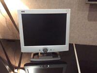 "AOC LM520A 15"" LCD TFT Flat Computer Monitor Screen"