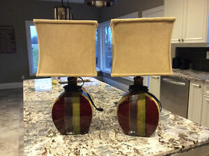 Tables lamps (matching pair)