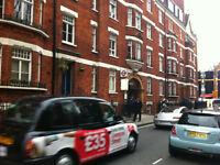 Vacation rentals, Oxford Street W1 , Regents Park, Marylebone