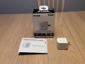 Prolongateur de portée de réseau Wifi de D-Link (DAP-1320)