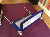 TOMY BED RAIL / GUARD WITH POCKET