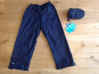 New Waterproof over trousers 5-6 years