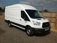 2014 64 FORD TRANSIT 2.2TDCI 125BHP EXTRA LWB L4 1 OWNER MUST SEE JUMBO