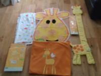 Mothercare Baby Jiraff bundle. £20