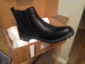 Men's Bruno Marc Chelsea leather boots