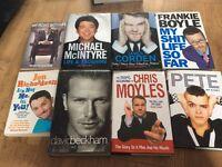 Various celeb autobiographies