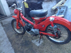 Honda cub 50 and trial 90